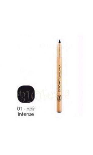 Crayon pour les Yeux BIO 01 Noir intense - So'Bio Étic