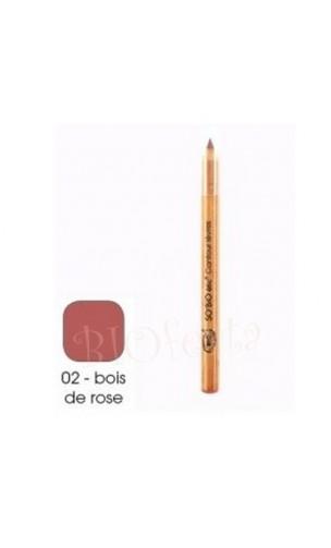 Crayon contour des lèvres BIO 02 Bois de rose - So'Bio Étic