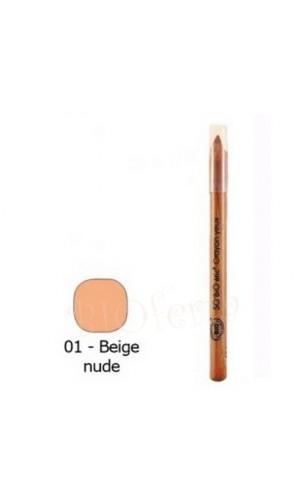 Crayon contour des lèvres BIO 01 Beige nude - So'Bio Étic