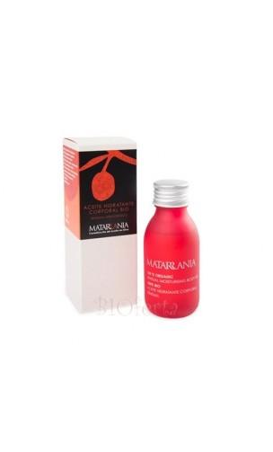 Huile hydratante sensuelle bio 100% - Matarrania - 100 ml.