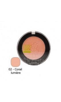 Fard à joues BIO 02 Corail Lumière -SO'BiO étic- 4,5 gr.