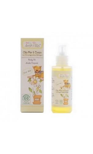 Aceite corporal ecológico para niños - Anthyllis Baby - 100 ml.