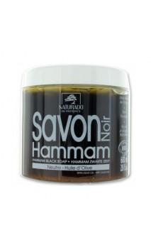 Savon de Hammam noir BIO - Naturado en Provence - 600 ml.