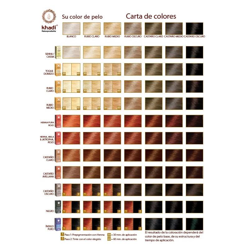 coloration vgtale bio blond moyen 100 vgtal khadi 100 gr - Coloration Blond Moyen