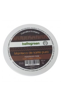 Beurre de karité pur - Hello Green - 250 ml.