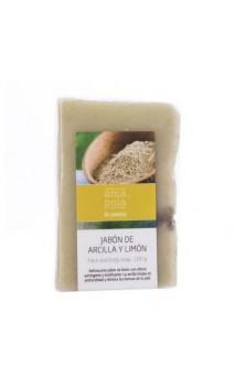 Jabón ecológico arcilla y limón - Amapola - 100 gr.