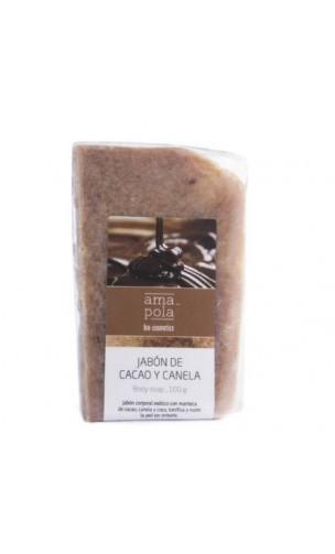 Savon BIO Cacao et cannelle - Amapola - 100 gr.
