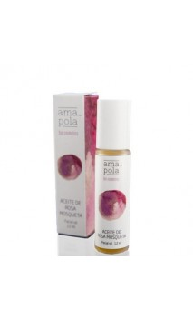 Aceite de Rosa mosqueta ecológico y puro - Amapola - 12 ml.