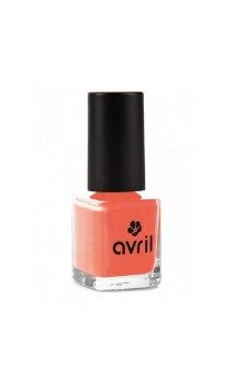 Vernis à ongles naturel Corail nº 02 - Avril - 7 ml.