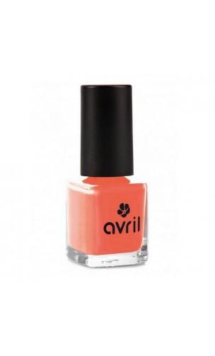 Vernis à ongles naturel Corail nº 02 - Avril - 7 ml.