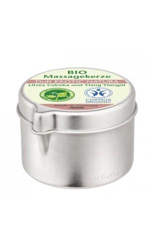 Vela de masaje bio Exótica - Stuwa - 50 ml.