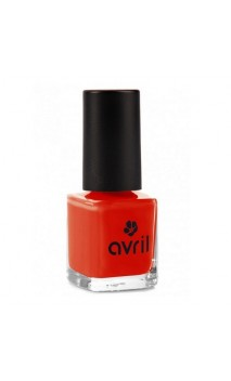 Vernis à ongles naturel Coquelicot nº 40 - Avril - 7 ml.