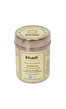 Mascarilla facial ecológica Sándalo Antimanchas - Khadi - 50 gr.