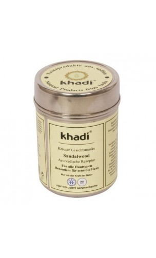 Masque visage BIO Santal Anti-tâches - Khadi - 50 gr.