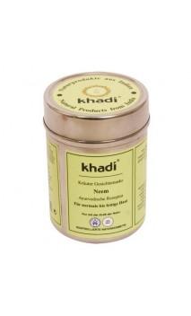 Masque visage BIO Neem Peau normale - Khadi - 50 gr.