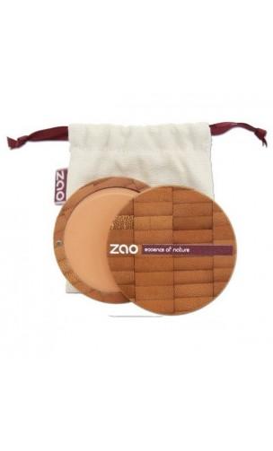 Fond de teint compact BIO 731 - Abricot - Zao Make Up - 7,5 gr.