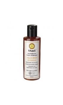 Gel douche BIO Amla & Fleur d'oranger - Khadi - 210 ml.