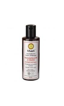 Gel de ducha ecológico Granada & Naranja - Khadi - 210 ml.