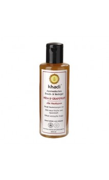 Gel douche BIO Neem & Pamplemousse - Khadi - 210 ml.
