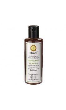 Gel douche BIO Tulsi & Jamrosa - Khadi - 210 ml.