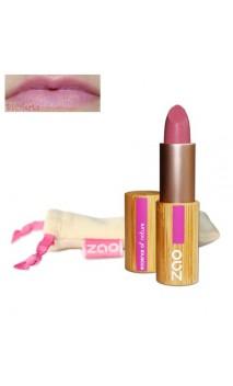 Rouge à lèvres bio - ZAO - Rose bonbon - Mate - 461