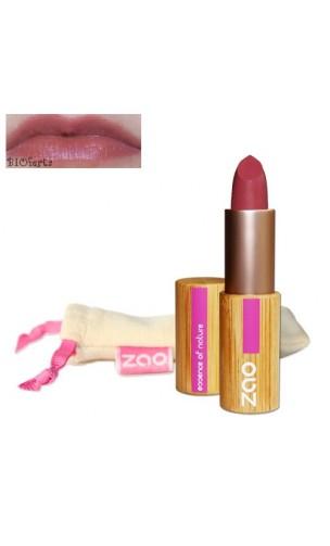 Rouge à lèvres bio - ZAO - Vieux rose - Mate - 461