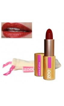 Rouge à lèvres bio - ZAO - Rouge sombre - Mate - 465