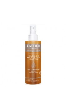 Aceite seco ecológico Multiusos - Cattier - 100 ml.