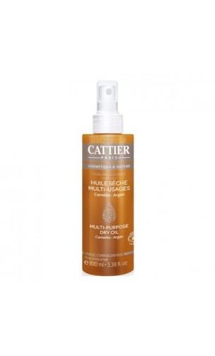 Aceite seco ecológico Multiusos - Cattier - 100 ml.