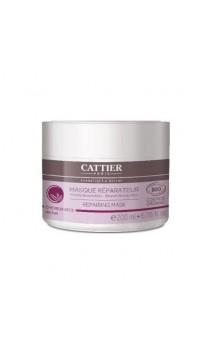 Masque capillaire BIO réparateur - cheveux secs - Cattier - 200 ml.
