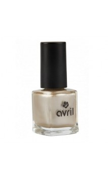 Vernis à ongles naturel Sable Doré Nacré nº 06 - Avril - 7 ml.