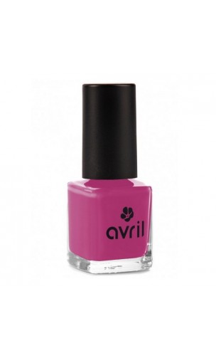 Vernis à ongles naturel Pourpre nº 568 - Avril - 7 ml.
