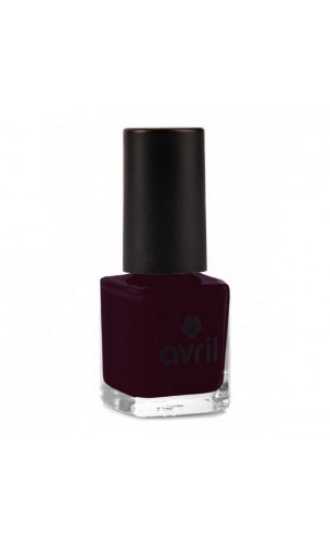 Vernis à ongles naturel Prune nº 82 - Avril - 7 ml.