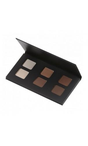 Paleta sombra de ojos ecológica Nude - Avril - 9 gr.