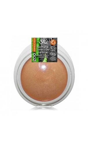 Recharge Terre cuite bio - Bronze cuivre - ZAO Make Up - 342 - 15 gr.