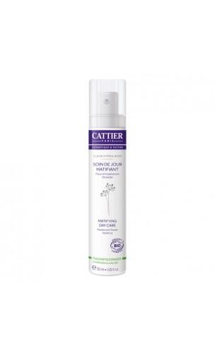 Crema de día matificante bio Flor de Emulsión - Cattier - 50 ml.