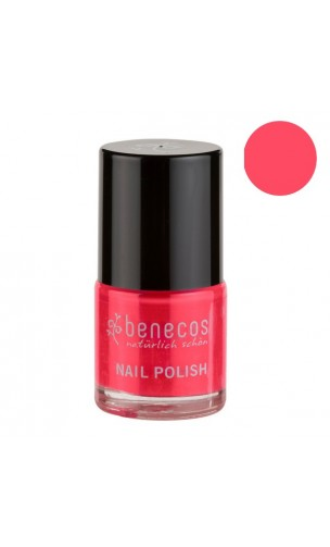 Vernis à ongles naturel - Hot Summer - Benecos - 9 ml.