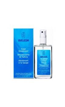Desodorante bio de Salvia - Weleda - 100 ml.