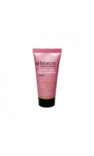 Fond de teint léger bio Fluide Mocca - Benecos - 30 ml.