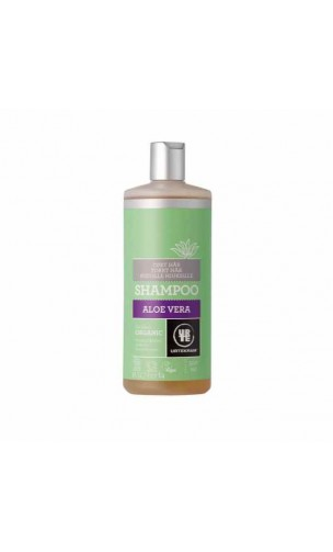 Shampooing BIO Aloe vera Cheveux secs - URTEKRAM - 500 ml.