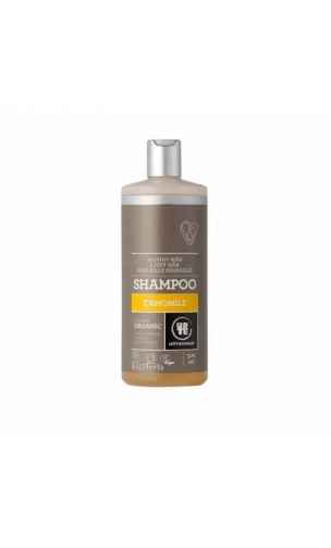 Shampooing BIO Camomille Cheveux blonds - URTEKRAM - 500 ml.