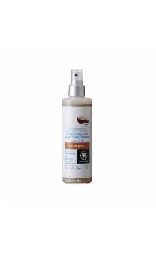Acondicionador ecológico en Spray Coco Cabello normal - URTEKRAM - 250 ml.