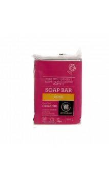Jabón ecológico Rosa - URTEKRAM - 100 gr.