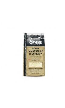 Copeaux de savon de Marseille traditionnel  (EXTRA PUR) Lavage à la main ou en machine - La Corvette - 750 gr.
