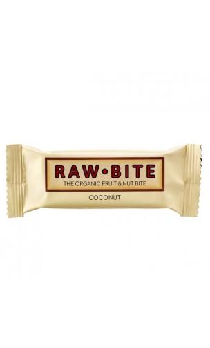 Súperbarrita energética ecológica Coco - Raw Bite - 50 gr.