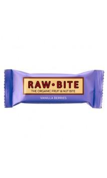 Barre énergétique BIO Vanille & Fruits des bois - Raw Bite - 50 gr.