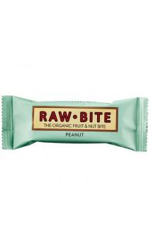 Súperbarrita energética ecológica Cacahuetes - Raw Bite - 50 gr.