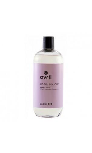 Gel de ducha ecológico Lavanda & Naranja - Avril - 500 ml.
