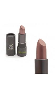 Rouge à lèvres bio nacré 202 Acajou - BoHo Green Cosmetics - 3,5 gr.