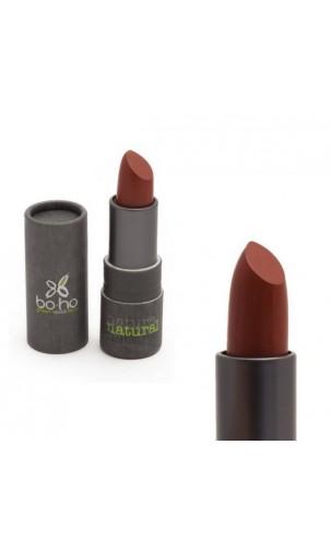 Barra de labios ecológica Mate transparente 307 Amapola (coquelicot) - BoHo Green Cosmetics - 3,5 gr.